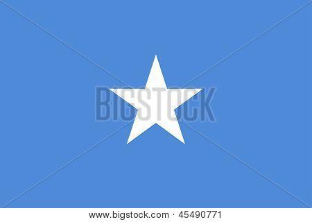Flag Of Somalia.