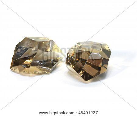 Two Crystal Rhinestone