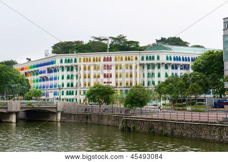 Mica Building Is Colonial Landmark In Singapore