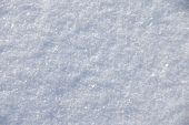 natural snow surface abstract winter background crop poster