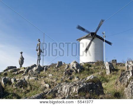 Monument To Don Quixote De La Mancha