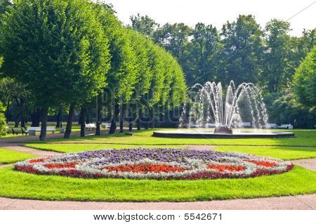 Fountains In Park, Saint-petersburg