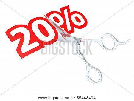 Cut 20 percent