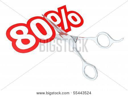 Cut 80 percent