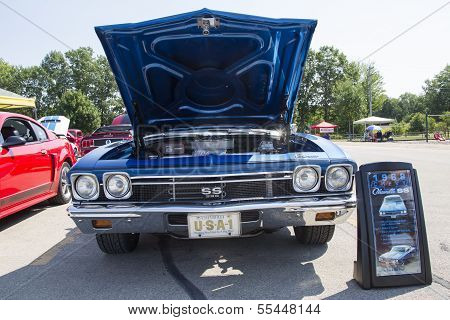 1968 Chevy Chevelle Ss Front View