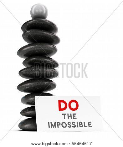 Motivational Quote Concept