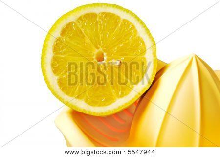 Orange With Squeezer
