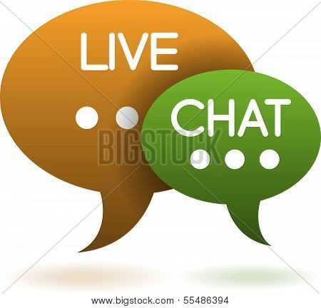 Live Chat Balloons Icon