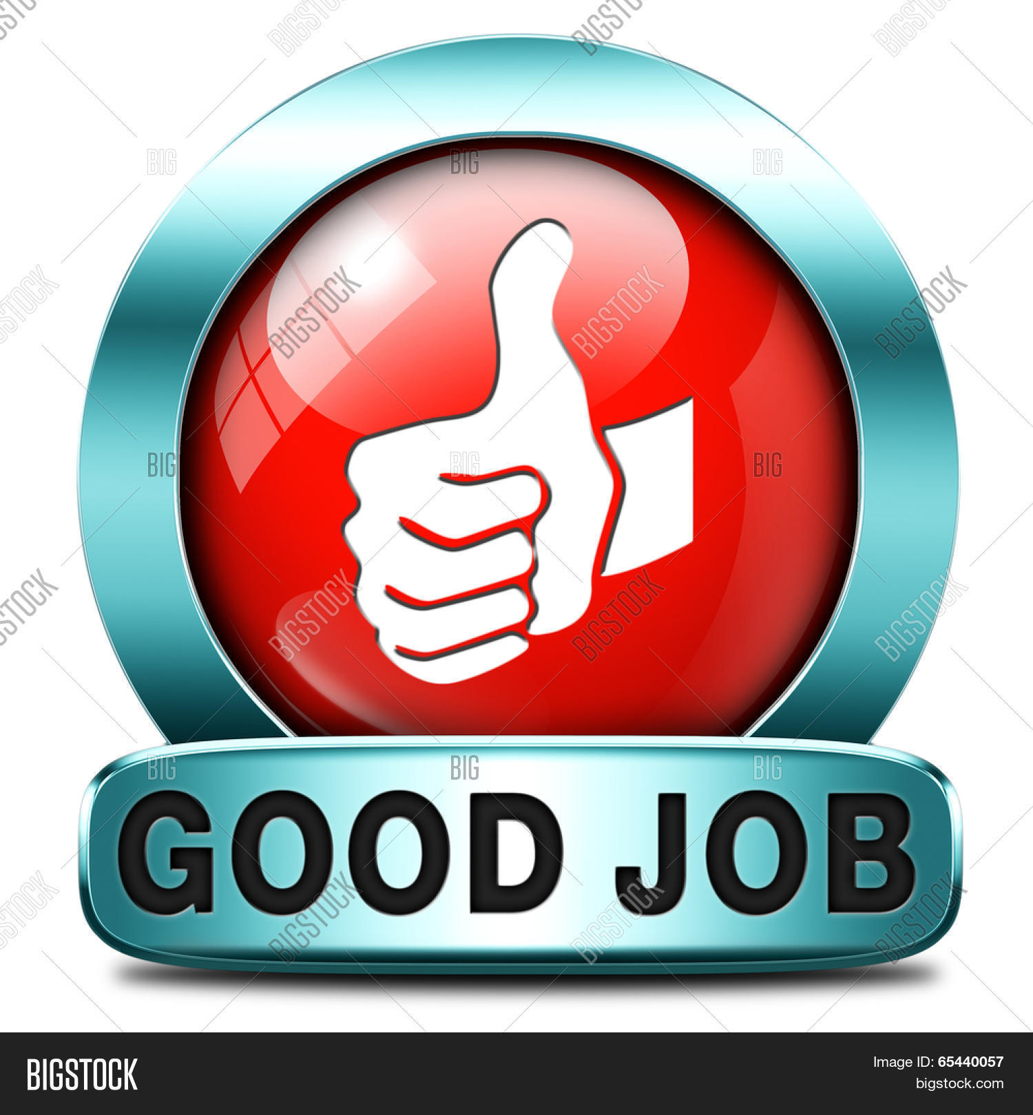 good job work well image photo free trial bigstock