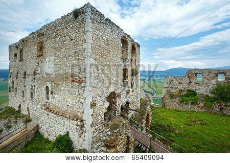 The Ruins Of Spis Castle (or Spissky Hrad). Slovakia.