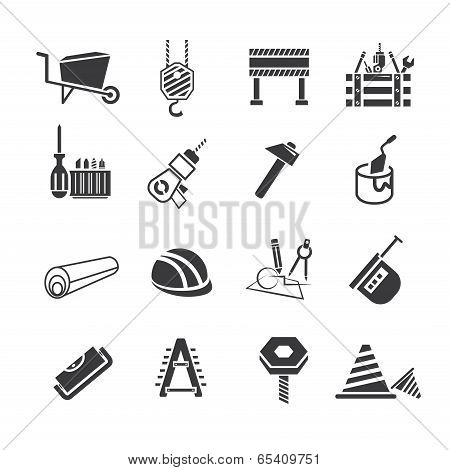 industrial tools icons