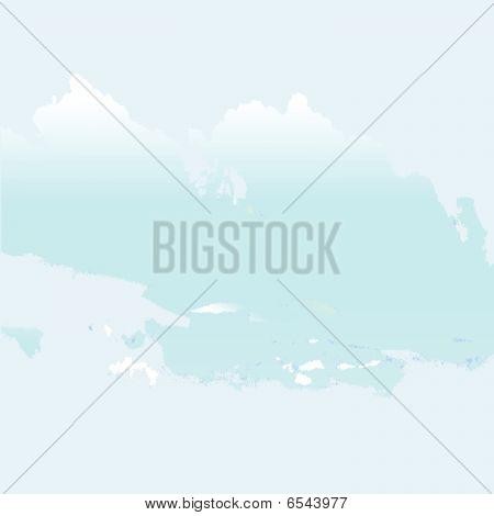 Bright Grunge-  Clouds Texture