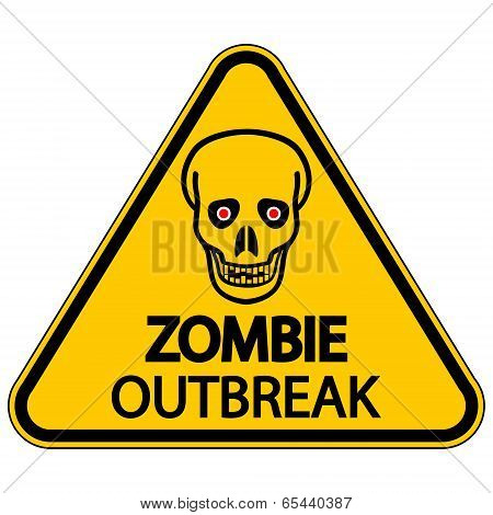 Warning Zombie Outbreak
