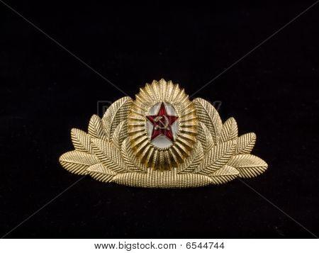 Cockade Soviet Army Officer