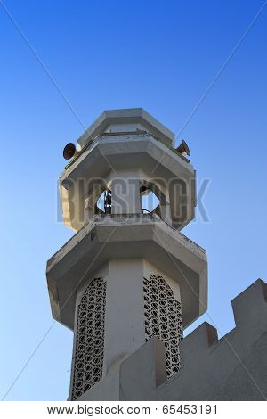 Minaret of a mosque
