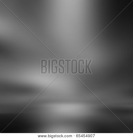 Gray Gradient Abstract Background, Light Effect Background, Illustration