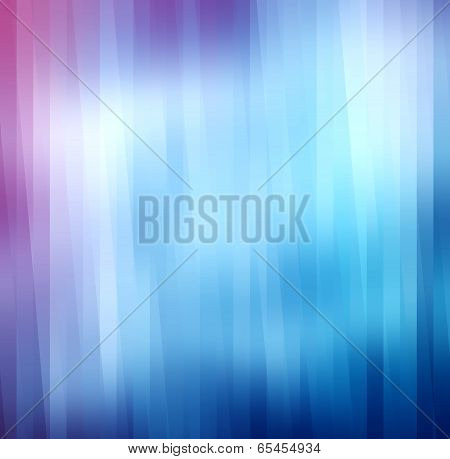 Abstract Curved Colorful Pink Blue Shiny Background