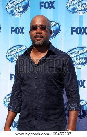 LOS ANGELES - MAY 21:  Darius Rucker at the American Idol Season 13 Finale at Nokia Theater at LA Live on May 21, 2014 in Los Angeles, CA