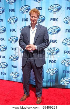 LOS ANGELES - MAY 21:  Matthew Hicks at the American Idol Season 13 Finale at Nokia Theater at LA Live on May 21, 2014 in Los Angeles, CA
