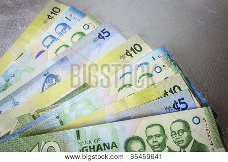 Cedi - Currency Of Ghana, West Africa
