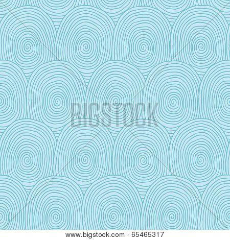 Fingerprints Seamless Pattern