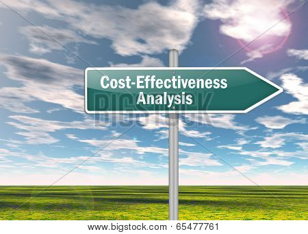 Signpost Cost-effectiveness Analysis