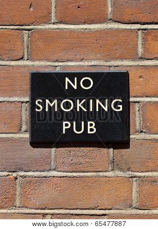 No Smoking Pub