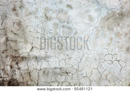 Old Wall With Cracks