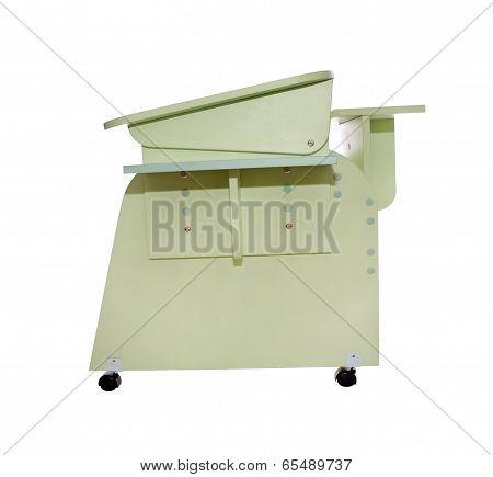 Home School Desk Green
