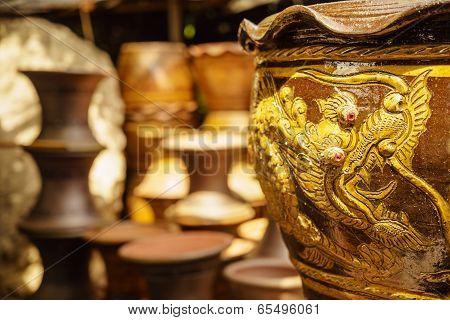 Dragon Flower Pot