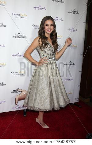LOS ANGELES - NOV 4:  Bailee Madison at the Hallmark Channel's