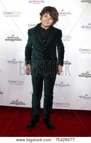 LOS ANGELES - NOV 4:  Max Charles at the Hallmark Channel's