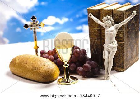 Symbol christianity religion  poster