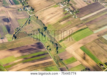 Polish Farmland Near Krakow