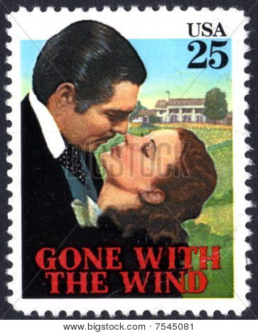 Gone With the Wind stamp