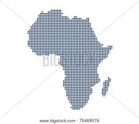 Image Of Modern Africa Map