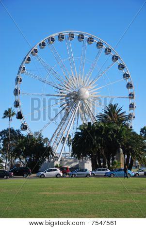 Ferris-wheel in Perth, Australia.