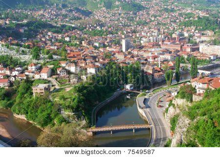 Sarajevo - Capital city of Bosnia and Herzegovina