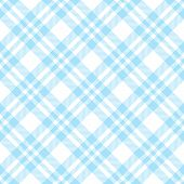 Checkered Tablecloths Pattern Endlessly - Light Blue poster
