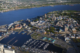 Aerial View Of Quebec City