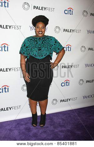 LOS ANGELES - MAR 13:  Amber RIley at the PaleyFEST LA 2015 -