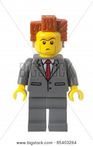 President Business Lego Minifigure
