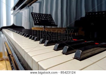 Grand Piano Waiting For Children