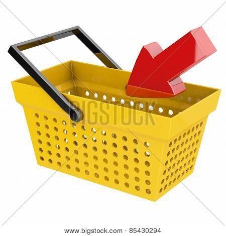 Basket With Arrow