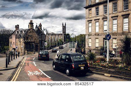 City view of Edinburgh