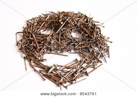 Stack Of  Nails