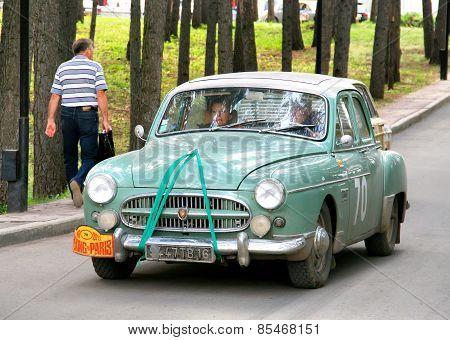 Peking To Paris Rally 2013