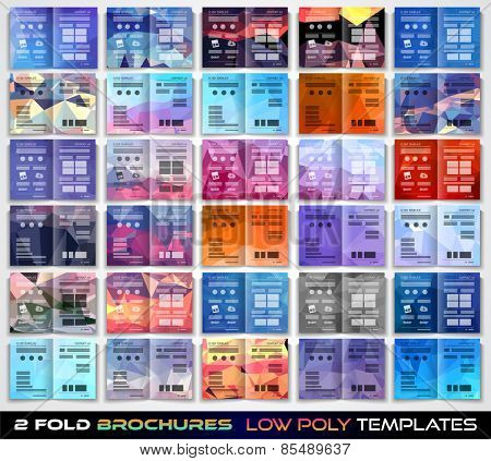 tri fold brochure template design or flyer layout to use for business applications, magazines, advertising, product sheets, item notes, event flyers or meeting invitations.