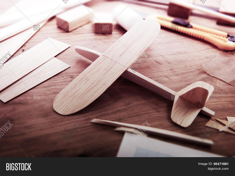 Making Model Airplane Image Photo Free Trial Bigstock