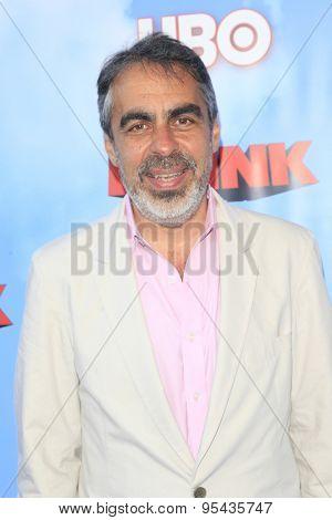 LOS ANGELES - JUN 8: Roberto Benabib at the Premiere of HBO's 'The Brink' at the Paramount Theater at Paramount Studios on June 8, 2015 in Los Angeles, CA